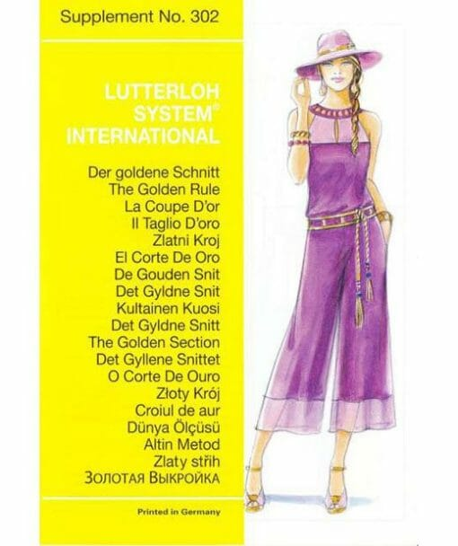 Sewing Pattern 302 Titel