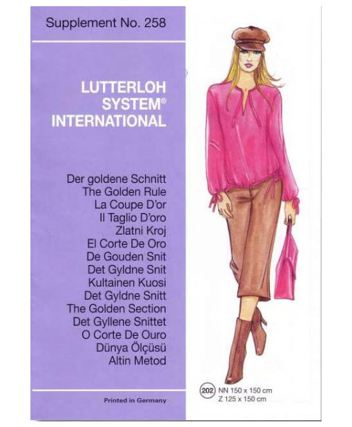 SEWING PATTERNS FOR THE AUTUMN from supplement 258 2005